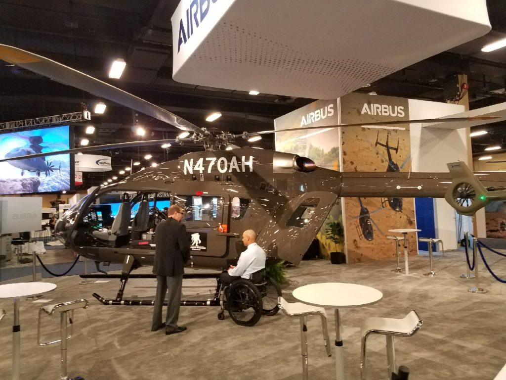 Wounded Warrior Project, through a comprehensive range of programs and services, helps injured veterans transition to civilian life. Airbus Photo