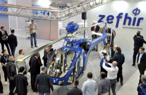 During the Zefhir presentation at AERO 2018, Curti said visitors appreciated the competent approach to design, manufacturing and assembly. Curti Photo