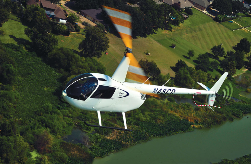 The new Robinson Cadet trainer is a winner, said Ken Pyatt. He is very happy with its performance and especially its air conditioning on hot Texas summer days. Skip Robinson Photo