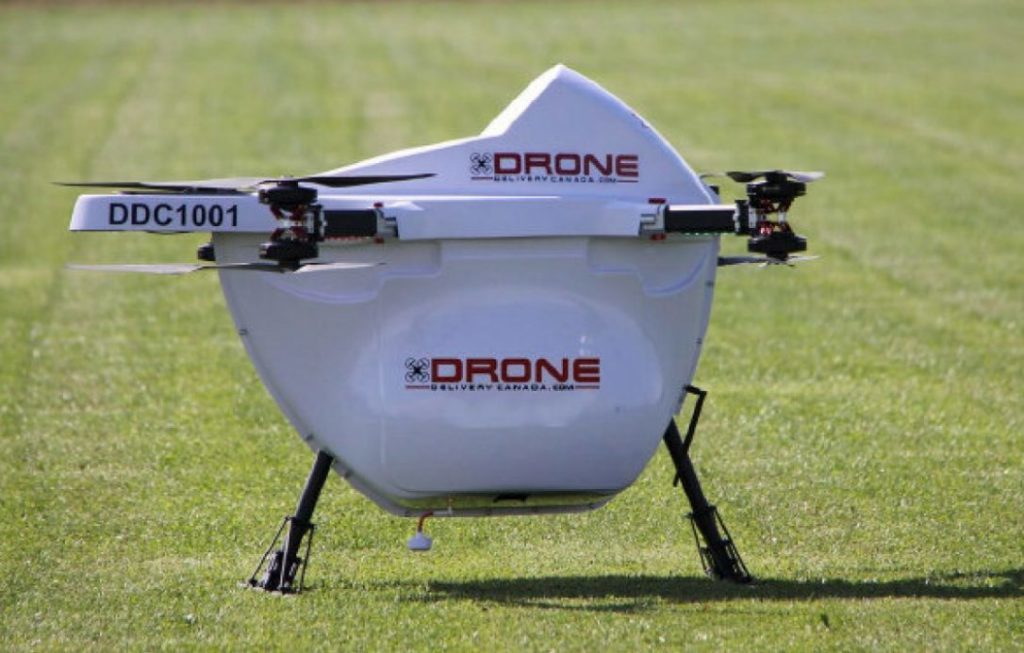 The Pilot Project will utilize DDC's drone delivery platform which includes its FLYTE management system, DroneSpot technology and its Sparrow X1000 delivery drone, which was deemed compliant by Transport Canada in late 2017.