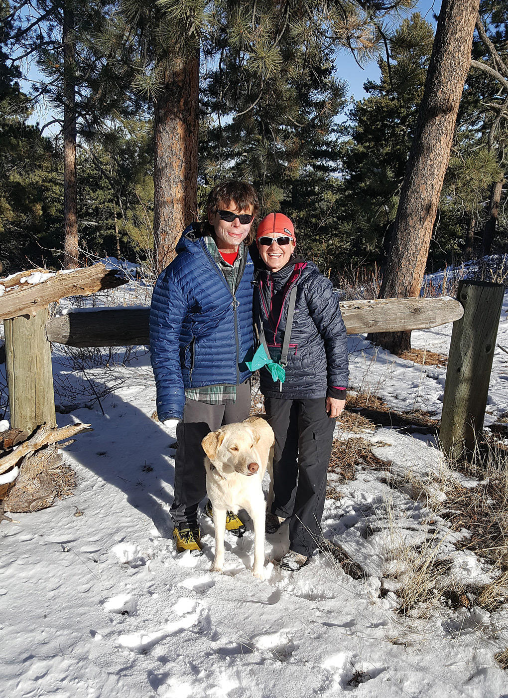 Dave and Amanda Repsher with their faithful companion, Turq. Dave has made an extraordinary recovery since sustaining near-fatal injuries in the 2015 crash of a Flight For Life helicopter. The Repshers now hope their story can inspire positive action on issues they're passionate about, including helicopter safety. Amanda Repsher Photo