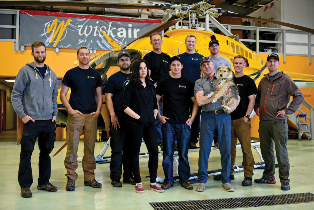 Wisk Air has a close-knit team of 22 core staff, including 10 pilots and eight aircraft maintenance engineers. The numbers grow during the busier summer months. Most staff members are long-time employees, giving the company a very familiar, family-like atmosphere. Mike Reyno Photo