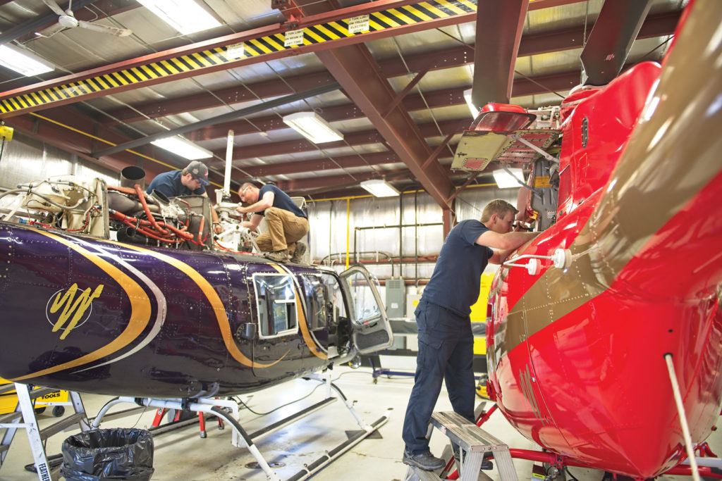 Wisk Air's maintenance team performs all work on the aircraft except major overhauls, which are sent out to StandardAero in Winnipeg, Manitoba, and AGO in Kingston, Ontario. Mike Reyno Photo