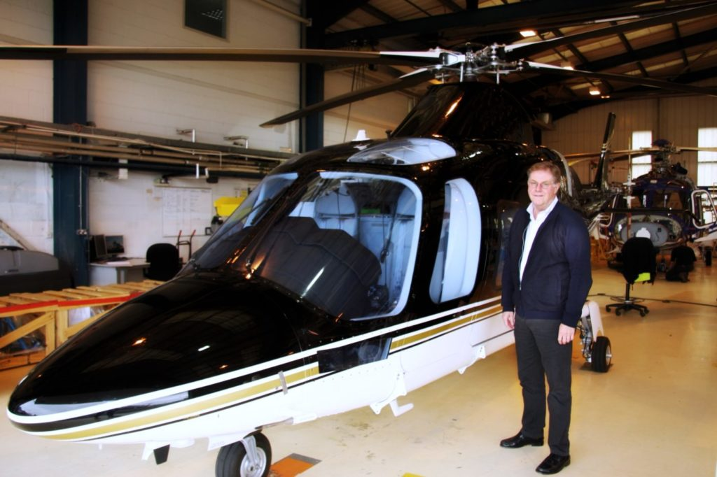 Sloane Helicopters is a distributor of Leonardo helicopters. With over 40 years of experience in the rotorcraft industry, Roger Taylor has a broad depth of knowledge on Leonardo products. Sloane Helicopters Photo