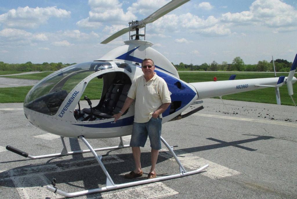 One of the helicopters to be featured at the event will be a home-built RotorWay 162-F helicopter. AHMEC Photo
