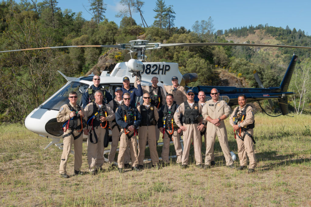 Personnel at a recent CHP training session included, in the top row, from left, Scott Grant, Mike McAuley, Brandon Hallam, and Scott Rodda; and in the front row, from left, Kevin Vinatieri, Scott Clays, Mike Crain, Dan Gallagher, Bryan Souza, Shaun Bouyea, Tyler Johns, Larry O'Brien, Joe Kingman, and Gerry Perez. Dan Megna Photo