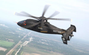 Sikorsky is likely to propose an aircraft based on its S-97 Raider, which resumed flight tests in mid-June 2018. Sikorsky Photo