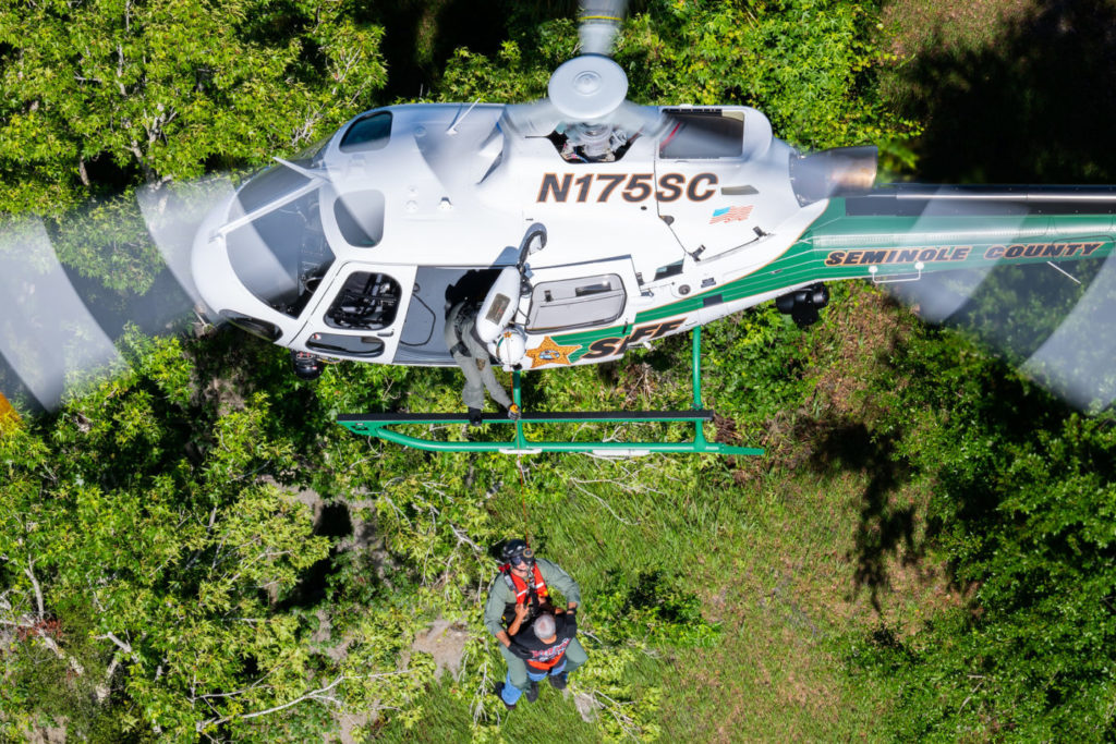Seminole County Sheriff's Office is the only law agency in central Florida that has comprehensive search-and-rescue capabilities. Mike Reyno Photo