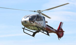Hospital Wing operates two Airbus EC130 B4 helicopters (pictured) and five Airbus H125 helicopters. Hospital Wing Photo