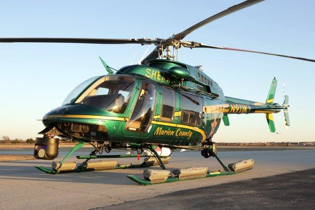AeroBrigham completes, delivers Marion County Bell 407