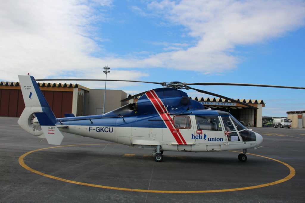 Héli-Union Training Center will be training 30 pilots from the Spanish Civil Guard to fly the Airbus AS365 Dauphin helicopter. Héli-Union Photo