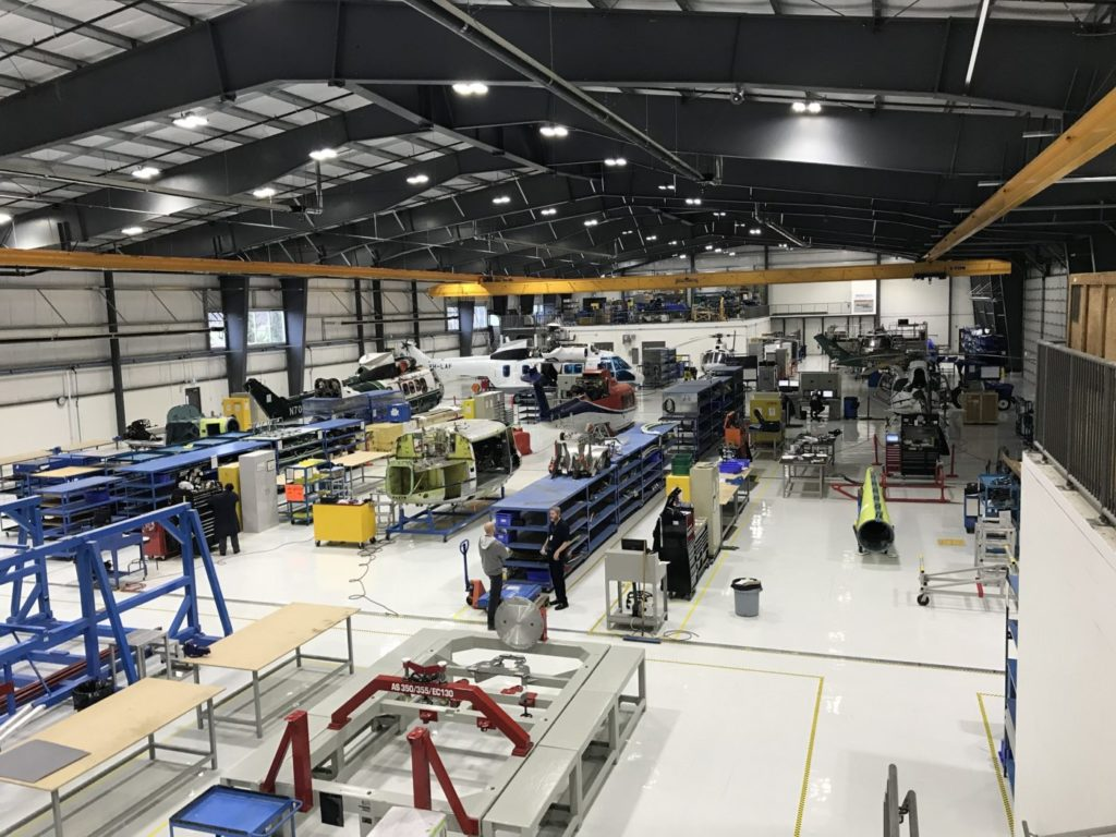StandardAero helicopter MRO facilities
