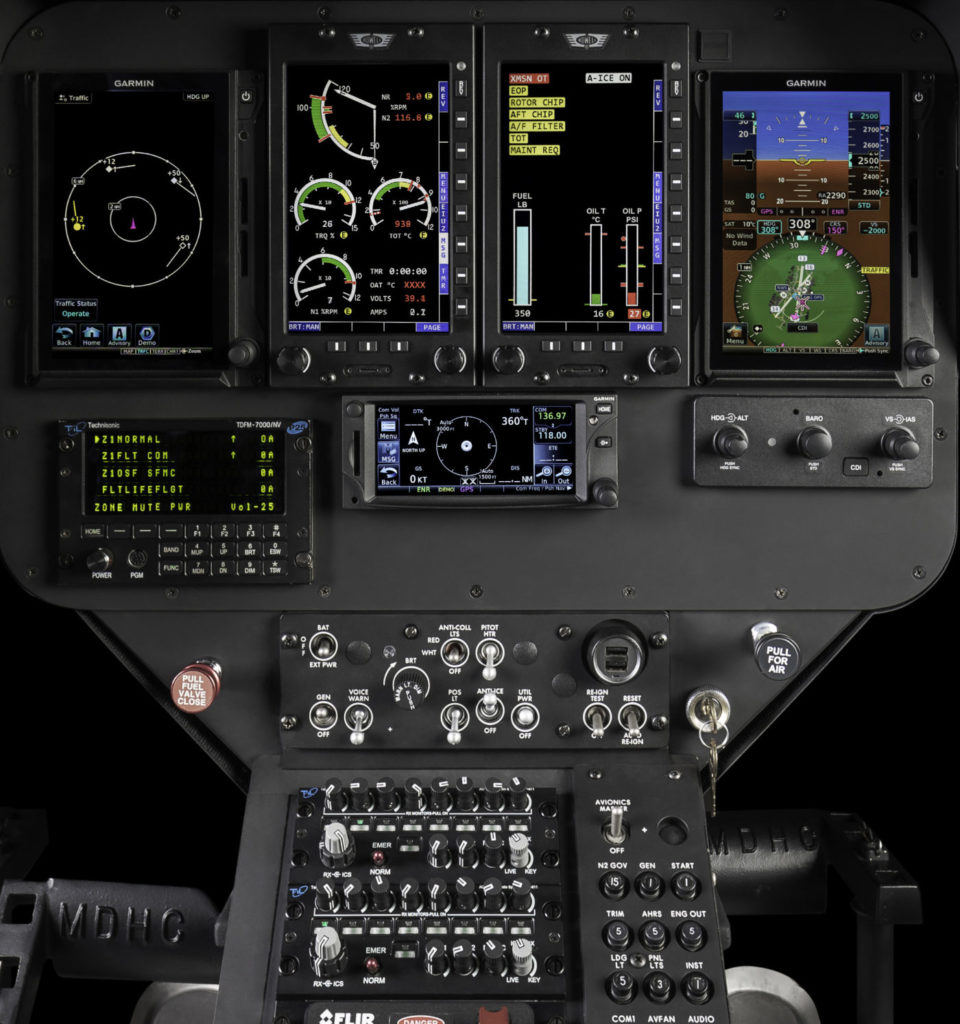Deliveries of the first production aircraft to feature this all-new cockpit have already begun. MD Helicopters Photo
