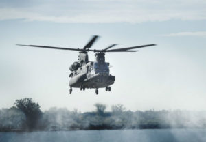 The four aircraft, for delivery in 2020, will be the first outfitted with Chinook Block II upgrades. Boeing Photo