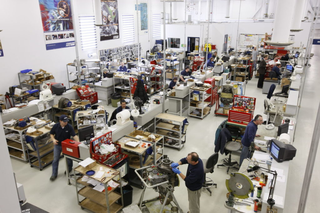 StandardAero helicopter engine MRO facility
