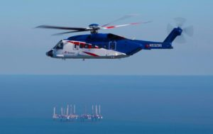 Bristow has seen an increase in annual flight hours for the first time in three years. Lockheed Martin Photo