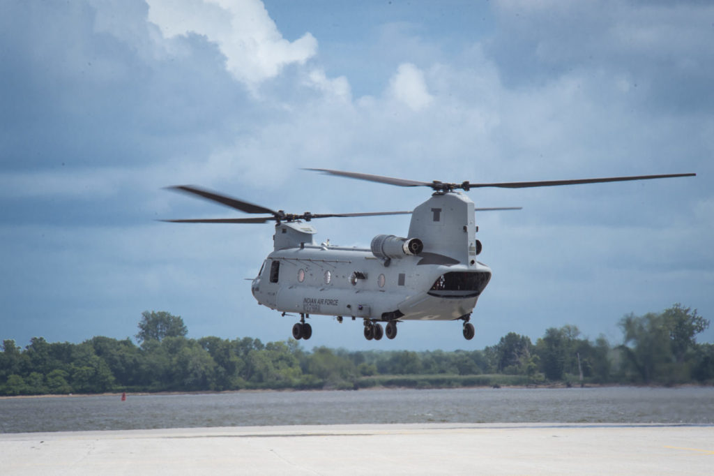 Deliveries of 22 AH-64E Apache and 15 CH-47F(I) Chinook helicopters to India will begin in 2019.