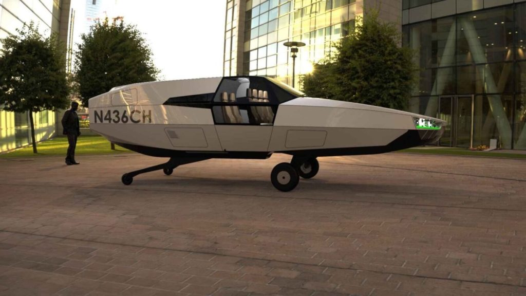 CityHawk's main advantage over helicopters and currently proposed eVTOL aircraft is its car-sized dimensions, resulting from its wingless, rotorless design, combined with its significant payload of up six occupants. Urban Aero Photo