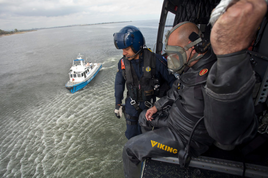 Proper equipment, both on the aircraft and for the crews, can help manage the risks associated with diver deployments. Sheldon Cohen Photo
