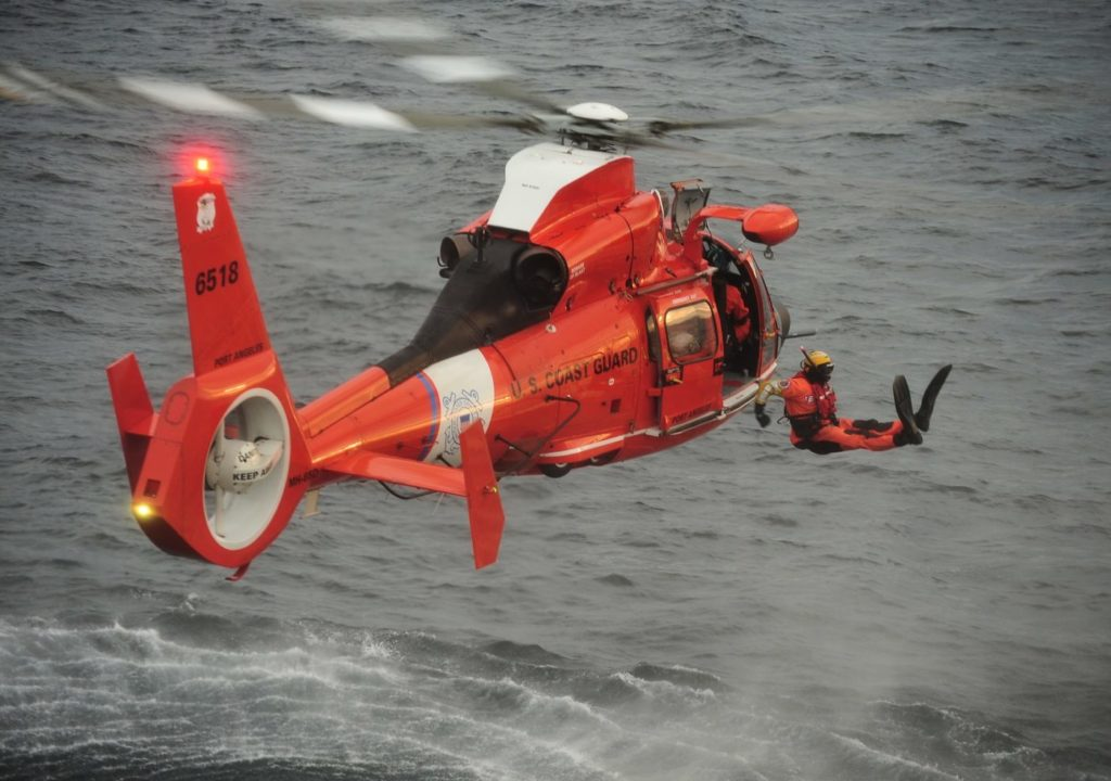 As part of their risk assessment, the authors reached out to the U.S. Coast Guard, undisputed experts in over-water operations. Skip Robinson Photo