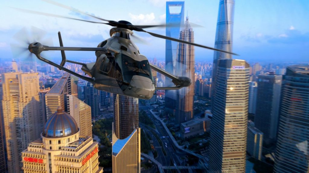 Airbus is evolving the hybrid helicopter technology it developed during the X3 program for civilian application in the Racer (an acronym for Rapid And Cost-Efficient Rotorcraft). Airbus Image