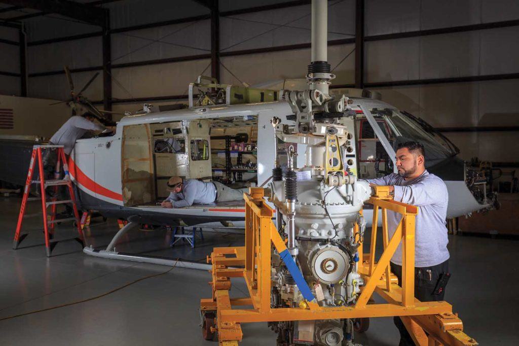 Manufacturers hope new regulatory rules will allow for a 10- to 15-percent reduction in maintenance costs for commercial operators. Heath Moffatt Photo