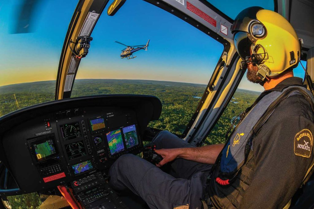 The H125 has brought a new generation of avionics with it, in the form of the Garmin G500H. Mike Reyno Photo