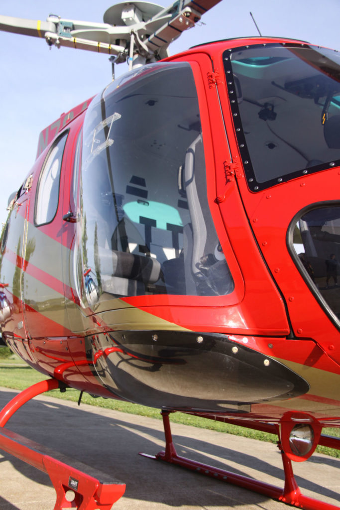 EuroTec performed the installation for Washington-based Rainier Heli International, the first operator in North America to implement the Maximum Pilot View Kit.