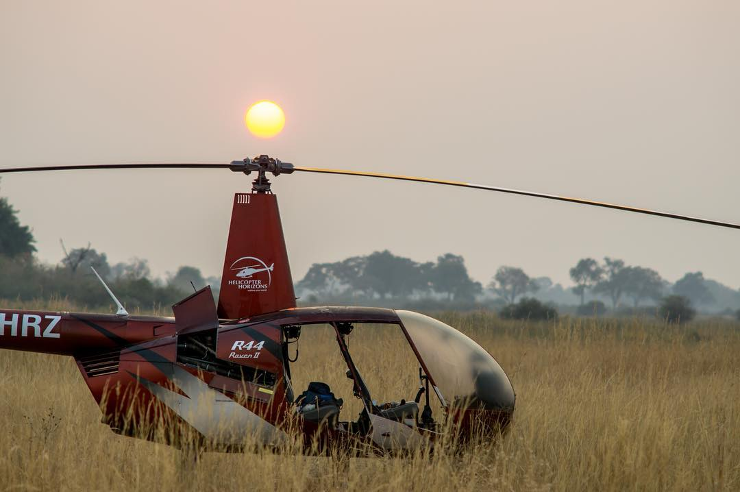 A misty morning with a Robinson R44 Raven II. Photo submitted by John Funck (Instagram user @johnfunck) using #verticalmag