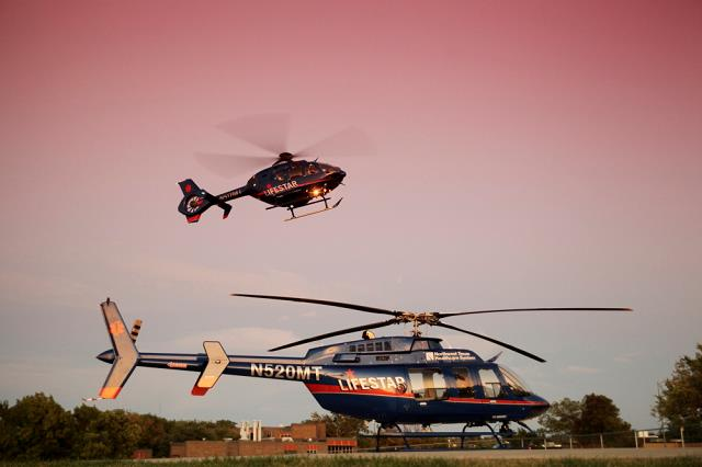 LIFESTAR operates two helicopters - an Airbus EC135 and a Bell 407 - as well as one fixed-wing aircraft