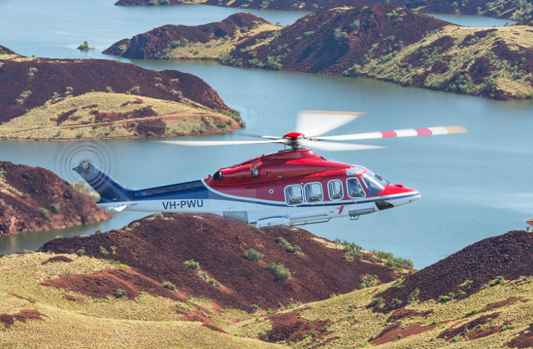 CHC's team will fly and maintain two Leonardo AW139 medium helicopters and two AW189 super medium helicopters to support the service.