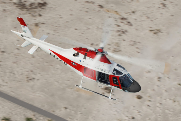 The TH-119 is expected to perform its maiden flight in fall 2018 and to achieve FAA certification in the first quarter of 2019. Leonardo Photo