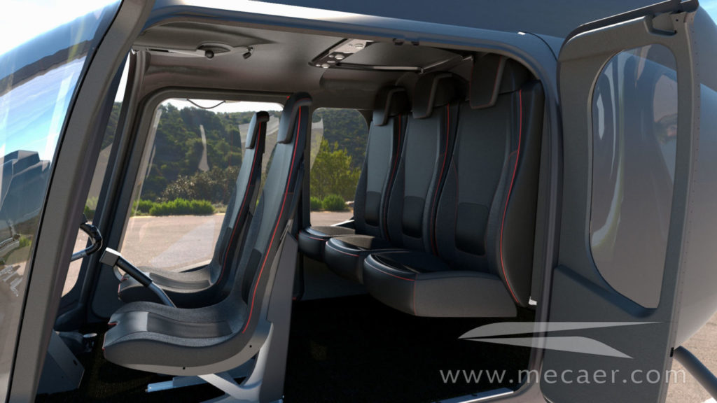 The VIP interior includes modified crew and passenger seats, new interior panels for the door, overhead and aft bulkhead, carpet, storage and an overhead Passenger Service Unit