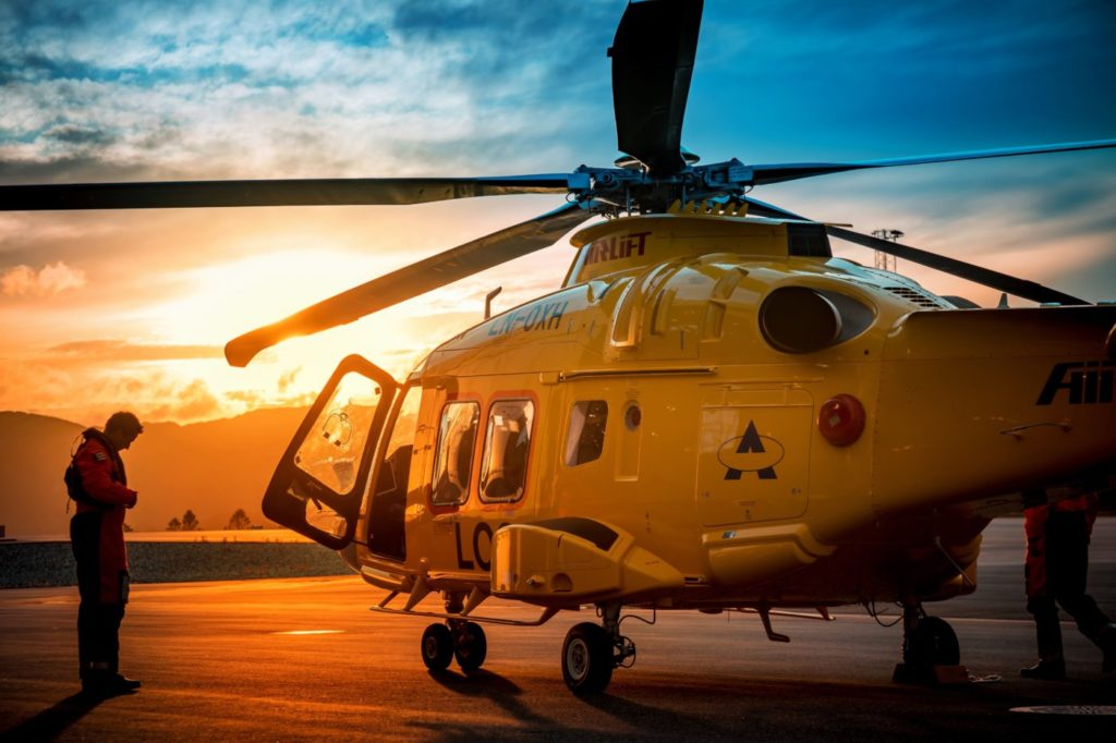 Airlift has three Leonardo AW169s, which are specifically used for marine work off Norway's northern coast. Tom Andreas Østrem Photo