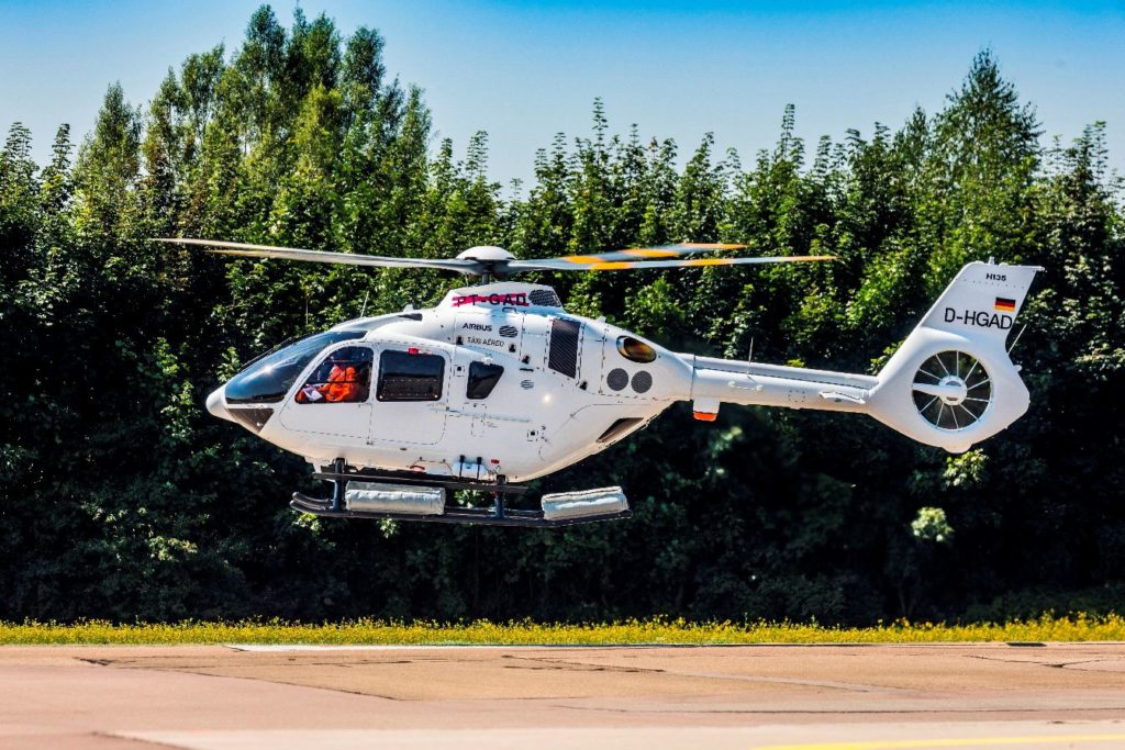 Líder Aviação said it has already trained its entire team on the operation of the H135. Airbus Helicopters Photo