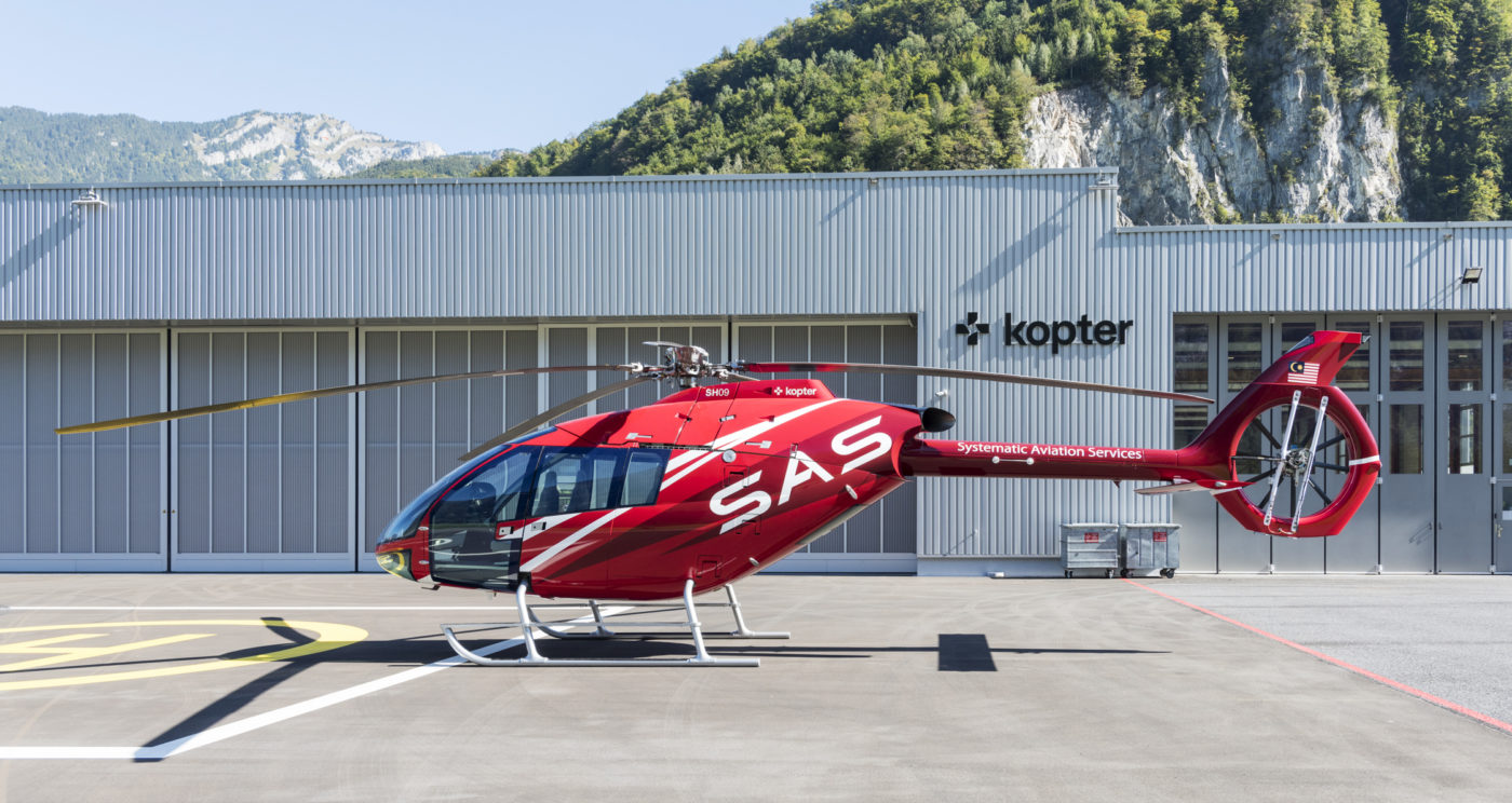 Kopter SH09 'a couple of weeks' from third prototype flights