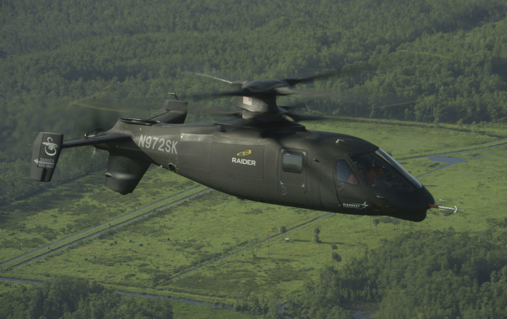Sikorsky has said it will submit a proposal for the U.S. Army's Future Armed Reconnaissance Competitive Prototype program based on its X2 technology. The S-97 Raider is advancing rapidly through its test flight schedule as the company prepares its submission. Lockheed Martin Photo