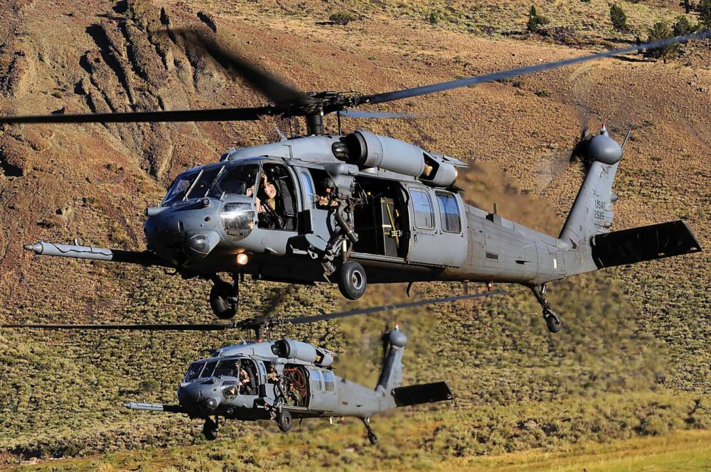 The Air Force's aging fleet of HH-60Gs will be replaced by the new-generation HH-60W. Skip Robinson Photo