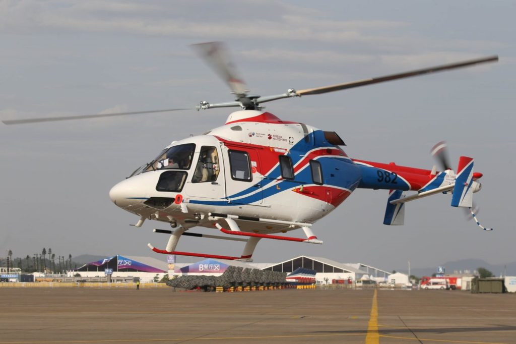 The medical module of the Ansat provides for resuscitation, intensive care and monitoring of the main bodily functions of an injured person during transportation to a hospital. Russian Helicopters Photo