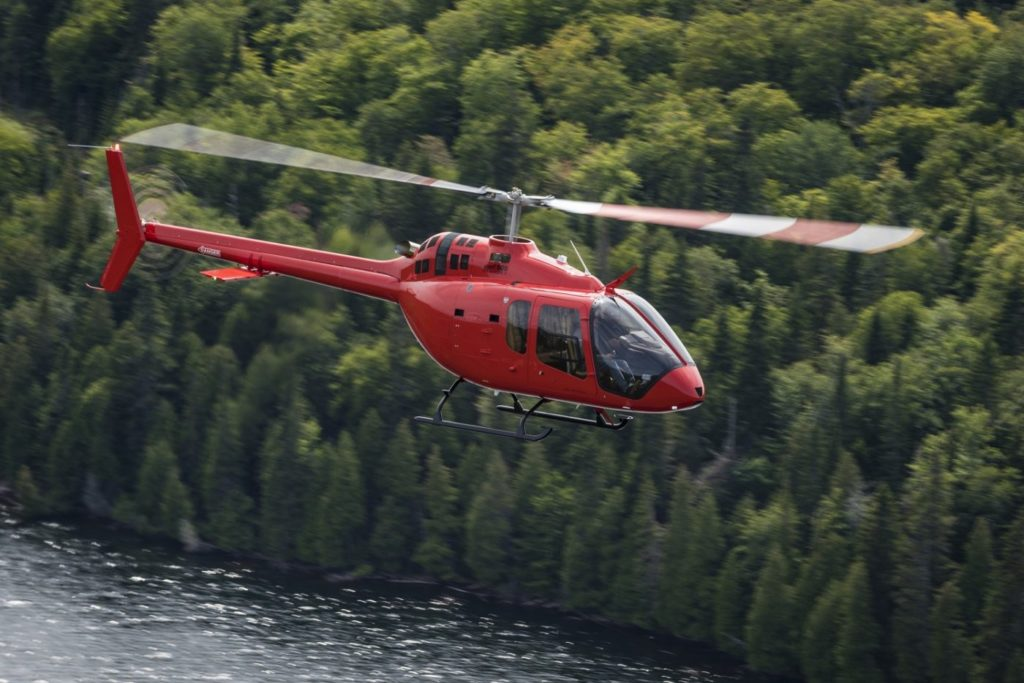 With more than 100 Bell 505s currently in operation, the aircraft continues to garner attention from customers around the world. Bell Photo