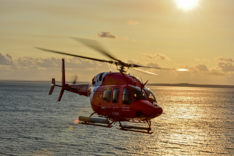 The new hangar will house one of 15 new Bell 429 light-lift helicopters purchased and deployed under the Coast Guard's Fleet Renewal Plan.