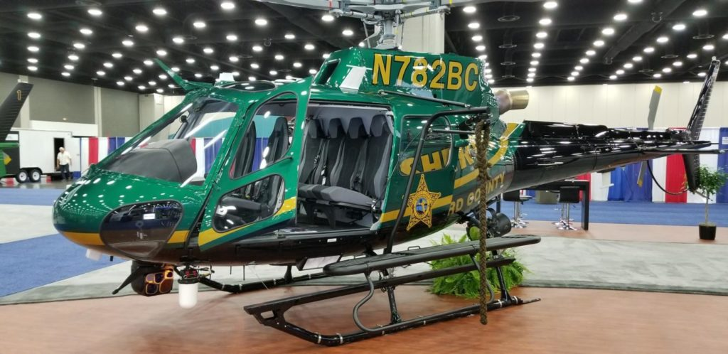 CNC's airborne mission suite for BSO featured at IACP