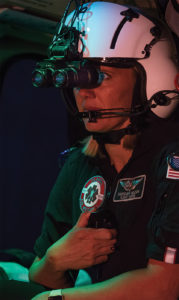 Since 2004, Classic medical crews and pilots have been operating with NVGs. They're presently making the transition to Gen-3 White Phosphor systems. Dan Megna Photo
