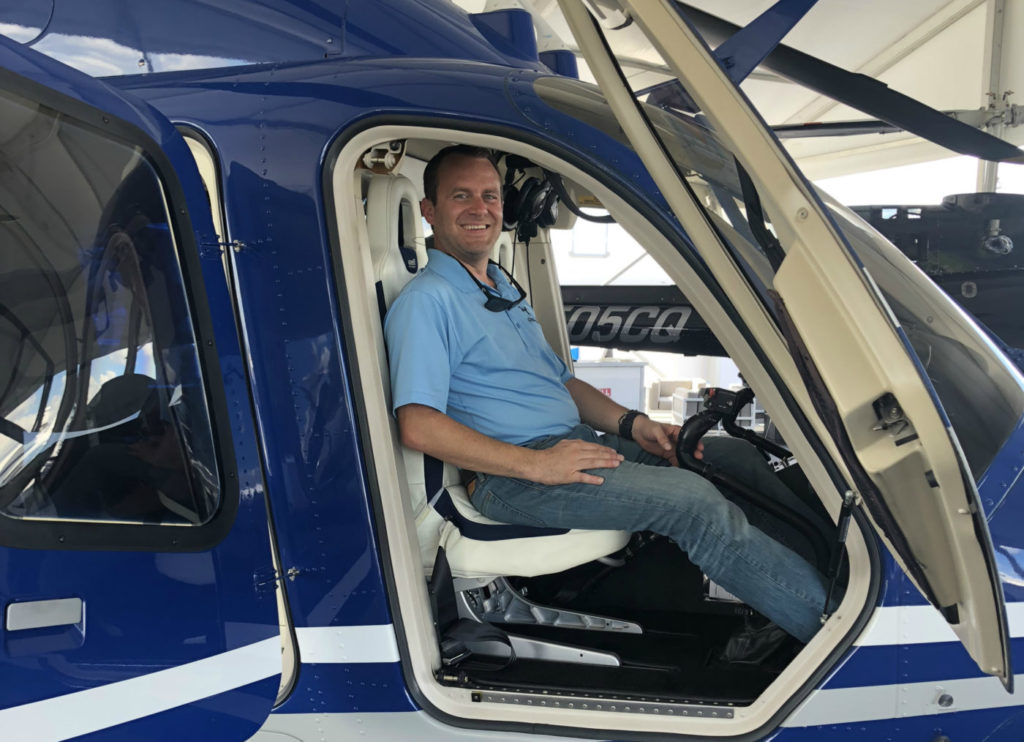 Mike Blackton, president of Chopper, has ambitious plans to expand his company's operations. Chopper Photo