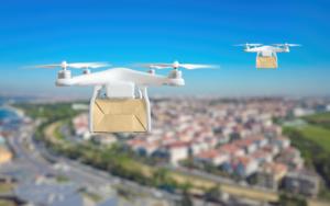 NextNav's MBS system facilitates urban drone operations where satellite-based GPS signals may not be available. NextNav Image