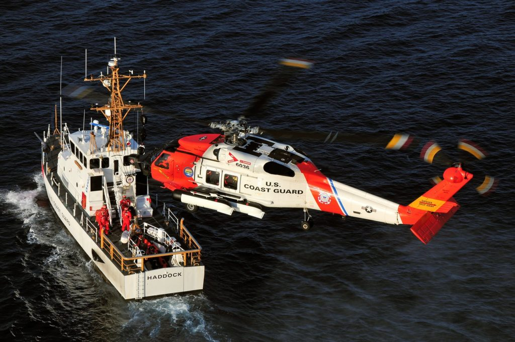 In January 2007, the USCG launched a nine-year program to upgrade its HH-60Js to MH-60Ts, which feature a digital glass cockpit, a modern electro-optical/infrared sensor system, and light weapons. Skip Robinson Photo