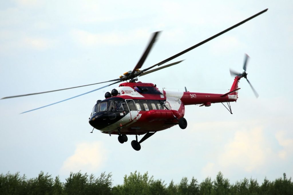 The Mi-172 is certified for passenger transportation and has established itself as having a high level of safety. Russian Helicopters Photo