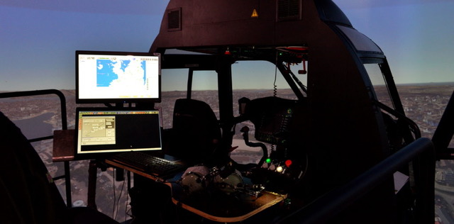 Avicopter will supply AC312, AC313 and AC352 data for Thales to design flight simulators. Thales Photo