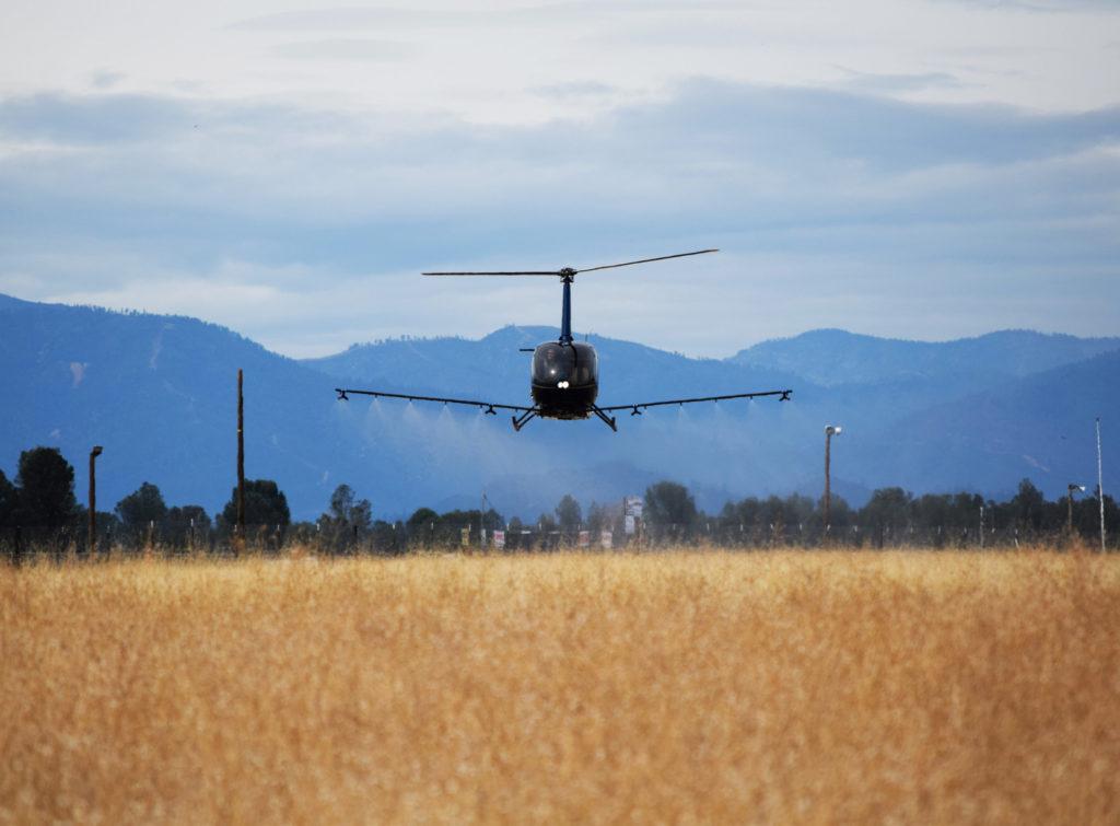 Simplex Aerospace announces new STC for R66 agricultural spray system