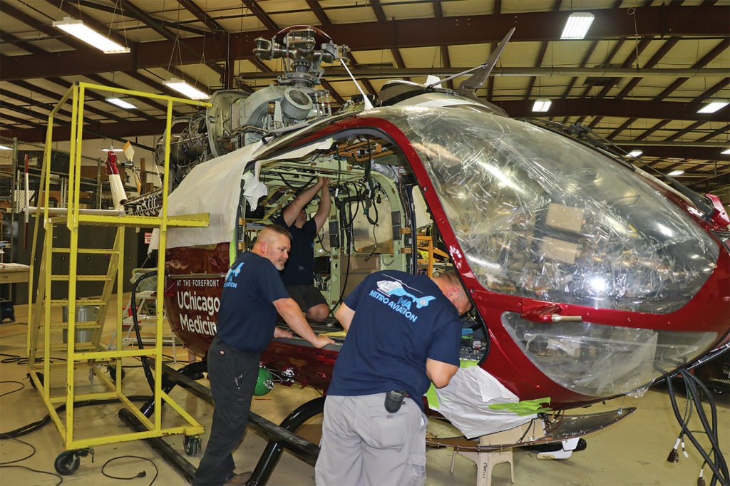 Extensive certification requirements for air medical interiors mean that advancements in the field are often a matter of evolution rather than revolution.